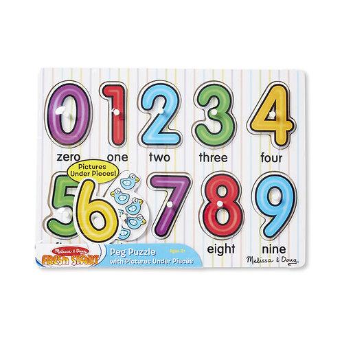 123 Peg Puzzle