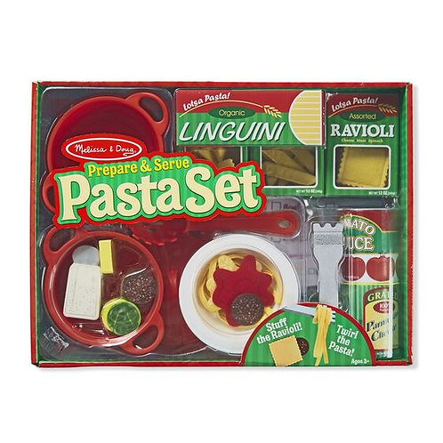 Prepare & Serve Pasta Wooden Playset