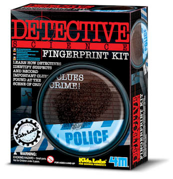 Detective Science Fingerprint Kit