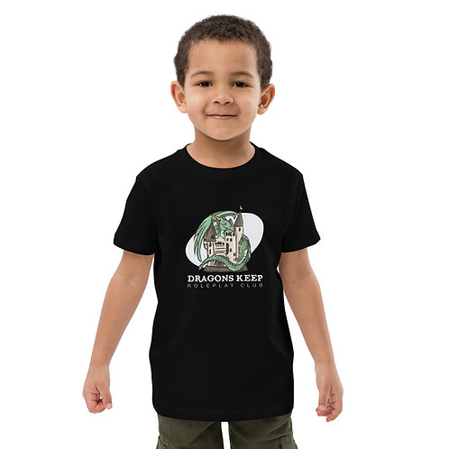 Organic cotton kids t-shirt (White Text) - Soft & Tailored Fit