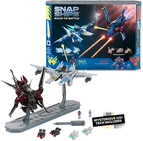 Snap Ships Battle Set: Wasp K.L.A.W. Heavy Fighter and Falx SC-41
