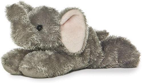 """Aurora Mini Flopsie 8"""" -Ellie Elephant"""