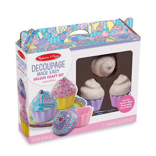 Cupcakes: Decoupage Made Easy Deluxe Craft Set