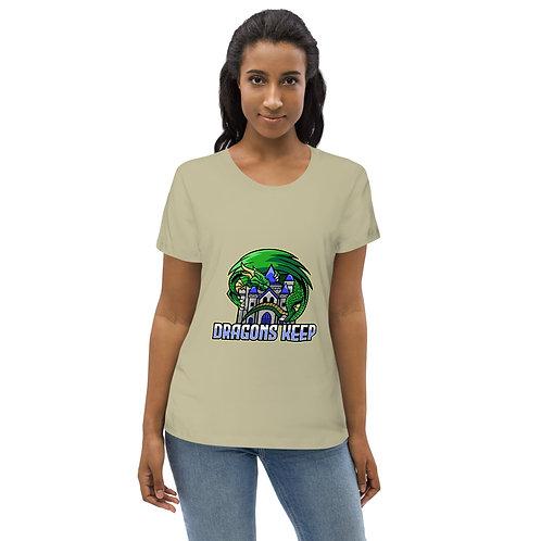 Women's Organic T-Shirt (Mascot Logo) - Soft & Tailored Fit