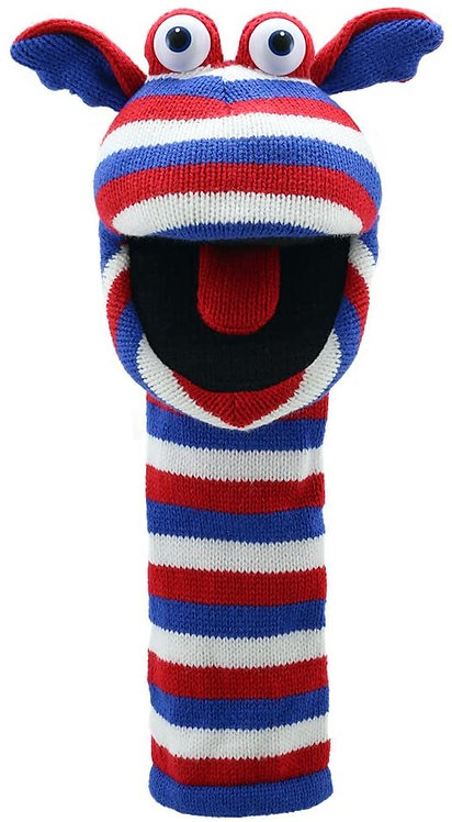 Jack Sockette Knit Puppet
