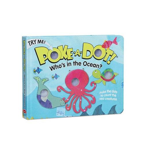Poke-A-Dot: Who's in the Ocean?