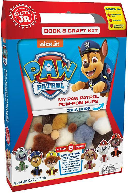 My Paw Patrol Pom Pom Kit
