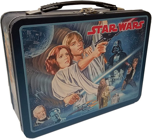 Star Wars Vintage Tin Lunch Box - Large
