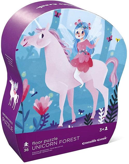 Unicorn Forest 36 Piece Floor Puzzle