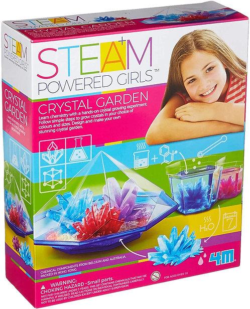 STEAM Crystal Garden
