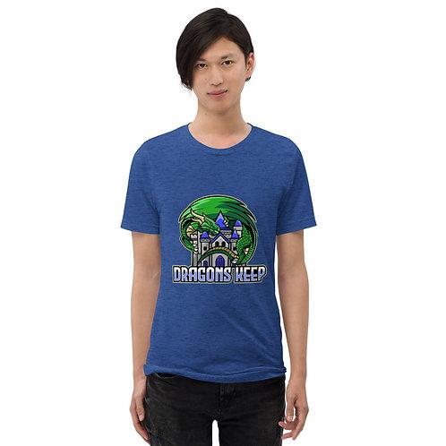 Unisex Tri-Blend T-shirt (Mascot Logo) - Supersoft & Tailored Fit