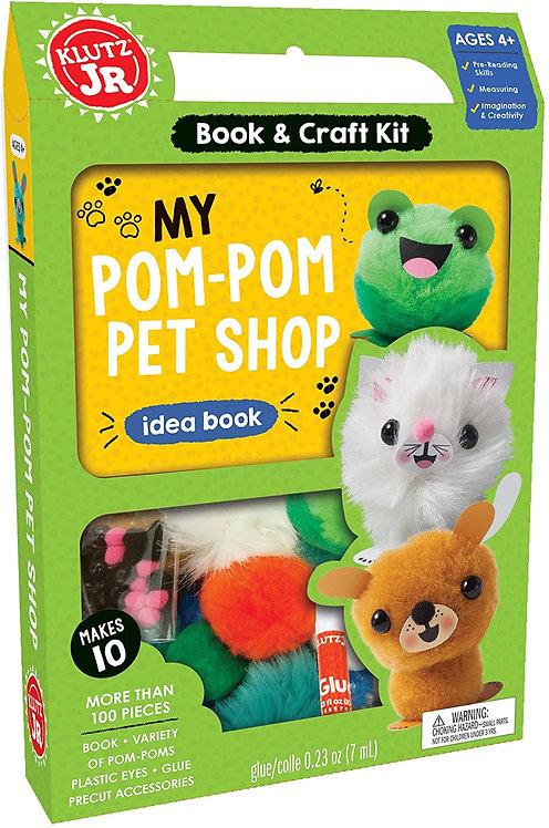 My Pom Pom Pet Shop | Klutz
