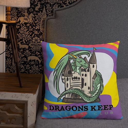 Premium Pillow Purple Swirl