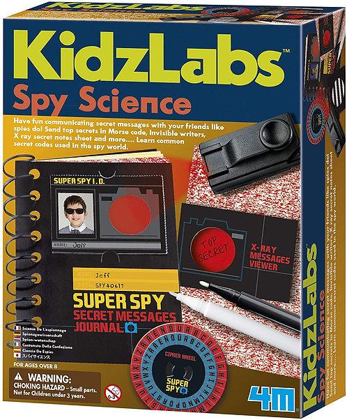 Spy Science Secret Message Kit   Toysmith