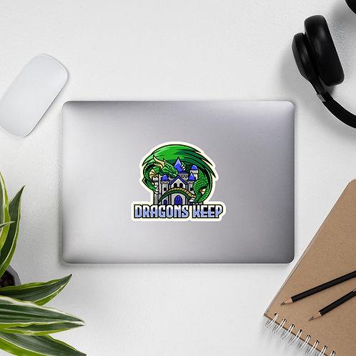 Bubble-free stickers (Mascot Logo)