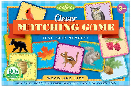 Clever Matching Game | Eeboo