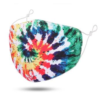 Adult Swirl Tie-Dye Cotton Mask