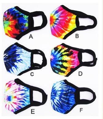 Adult Face Mask-Tie Dye