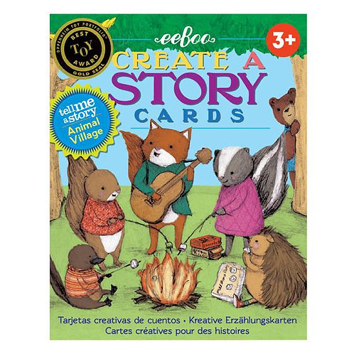 Animal Village - Create A Story Cards