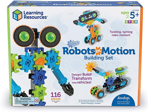 Robots in Motion Building Set | Learning Resources