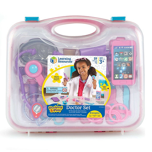 Pretend & Play Doctor Set - Pink