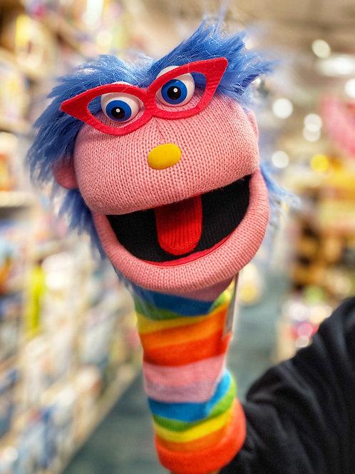 Gloria Sockette Knit Puppet