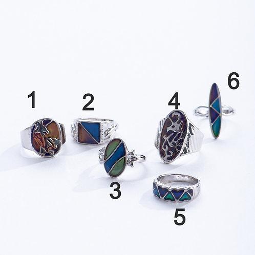Multi-Stone Mood Ring | Geocentral