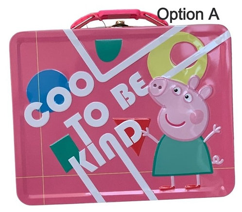 Peppa Pig Tin Box Carry All