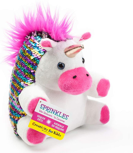 Sprinkles Sequined Unicorn | Creativity for Kids