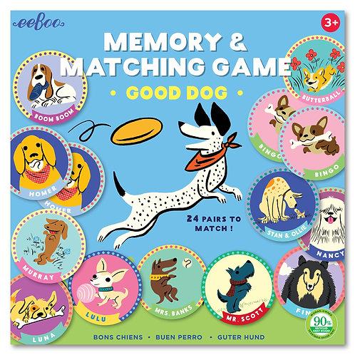 Memory & Matching Game Good Dog