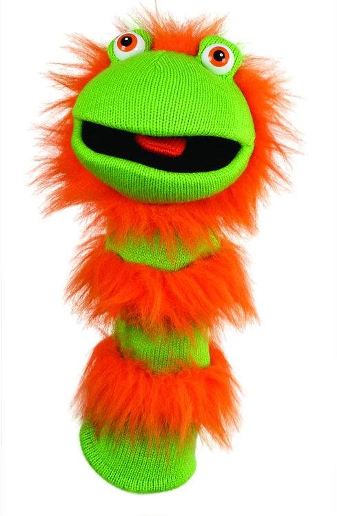 Ginger Sockette Knit Puppet