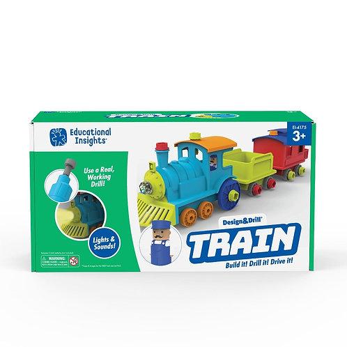 Design & Drill All Aboard Train