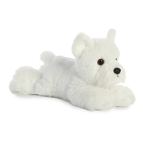 "Aurora Mini Flopsie 8"" - Windsor Westie Puppy"
