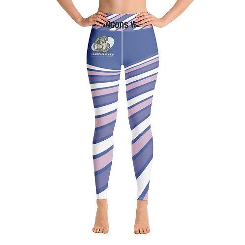 Yoga Leggings Purple Swirl