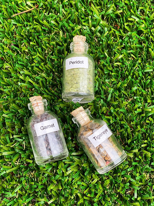 Assorted Gem Bottles | Geocentral