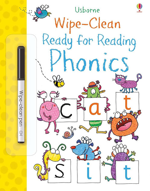 Wipe-Clean Ready for Reading Phonics | Usborne