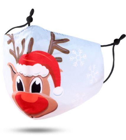 Adult Reindeer Face Mask