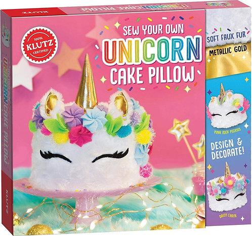 Klutz: Sew Your Own Unicorn Cake Pillow