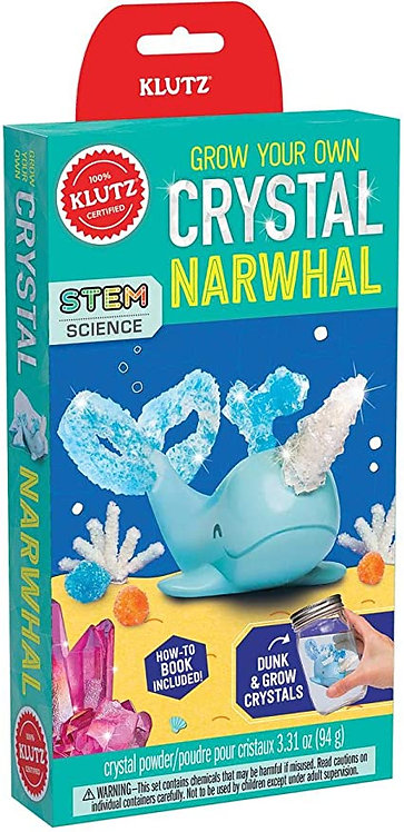 Grow your Own Crystal Narwhal | Klutz