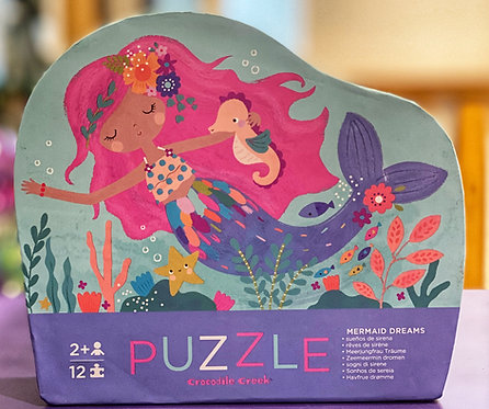 Mermaid Dreams 12 Piece Puzzle | Crocodile Creek