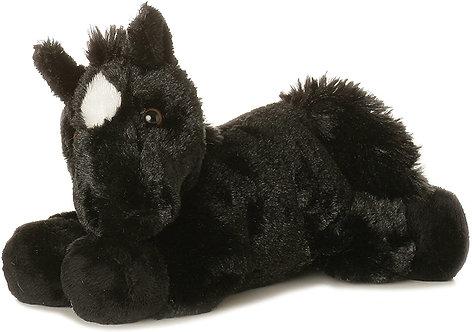 """Aurora Mini Flopsie 8"""" - Beau Black Horse"""