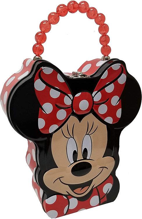 Minnie Mouse Head Shaped Tin