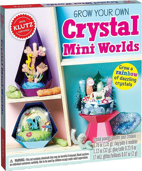 Klutz: Crystal Mini Worlds
