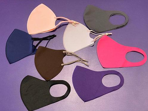 Teen/Adult Solid Color Face Masks