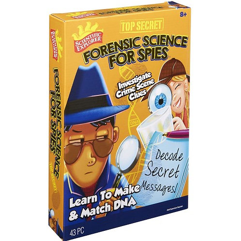 Forensic Science for Spies
