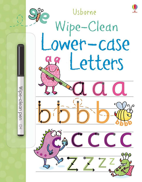Wipe-Clean Lower Case Letters | Usborne