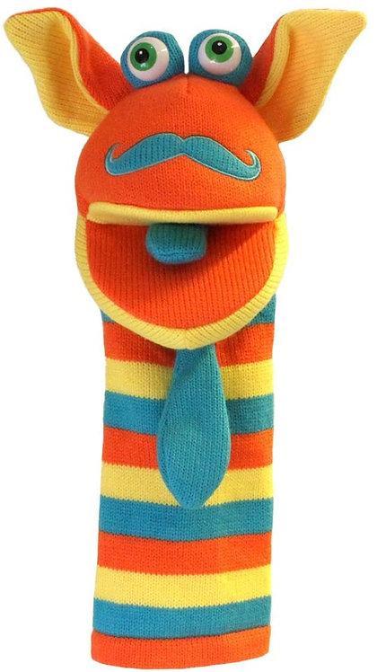 Mango Sockette Knit Puppet