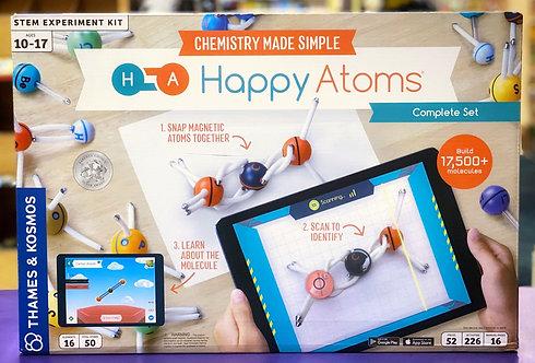 Happy Atoms: Complete Set