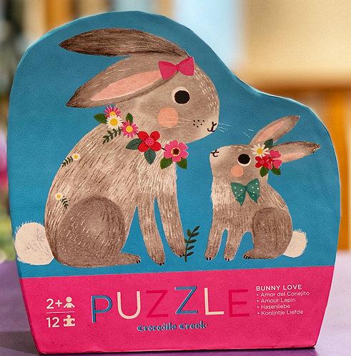 Bunny Love 12 pc Puzzle | Crocodile Creek