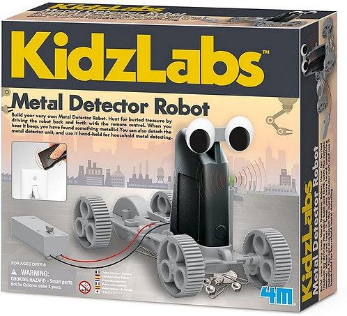Metal Detector Robot